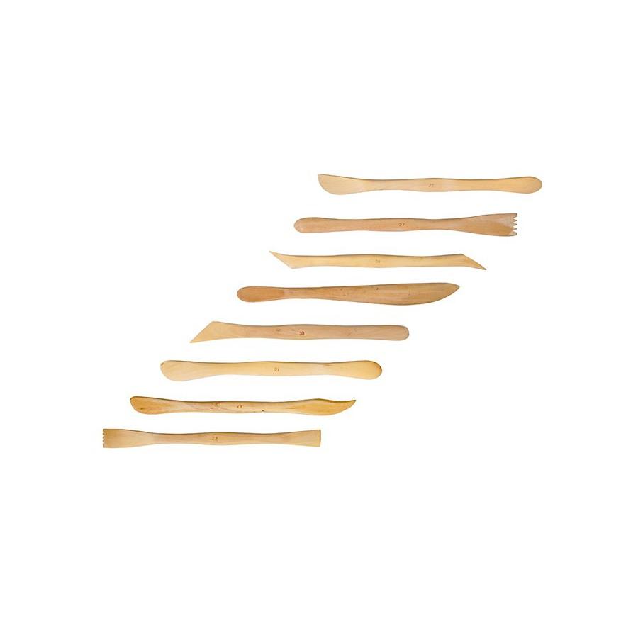 Łopatki drewniane do modelowania