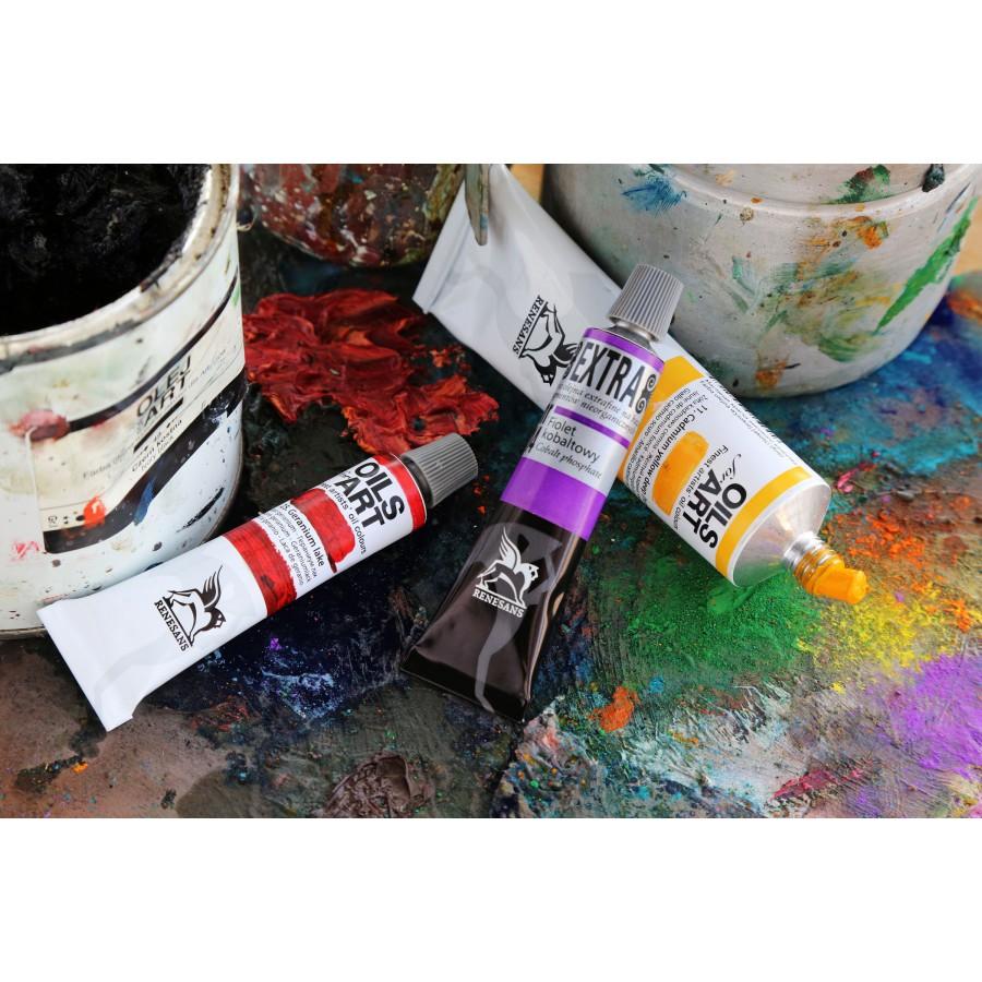 Farby olejne na sztuki