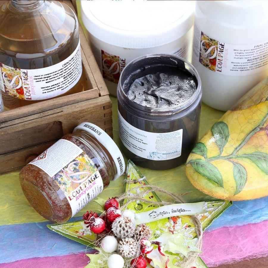 Produkty do decoupage oraz przedmioty do ozdabiania