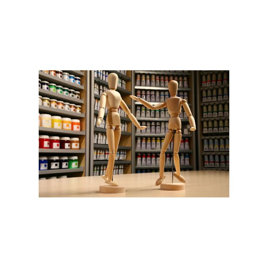 Manekiny i modele drewniane