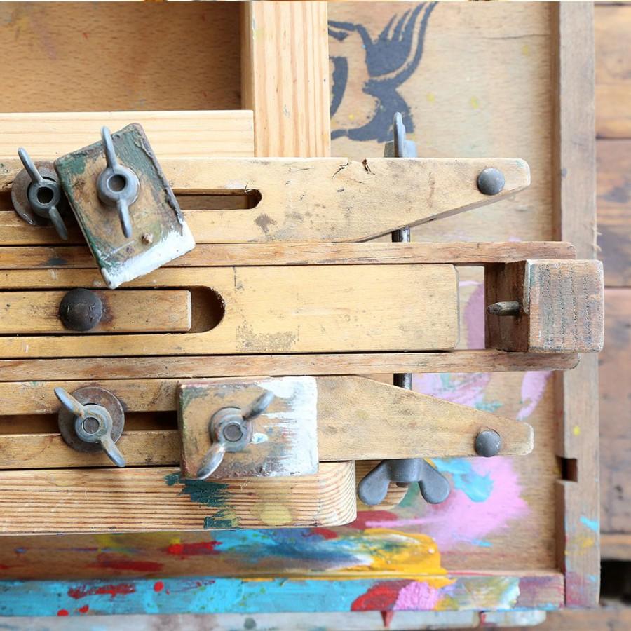 Sztalugi drewniane i metalowe