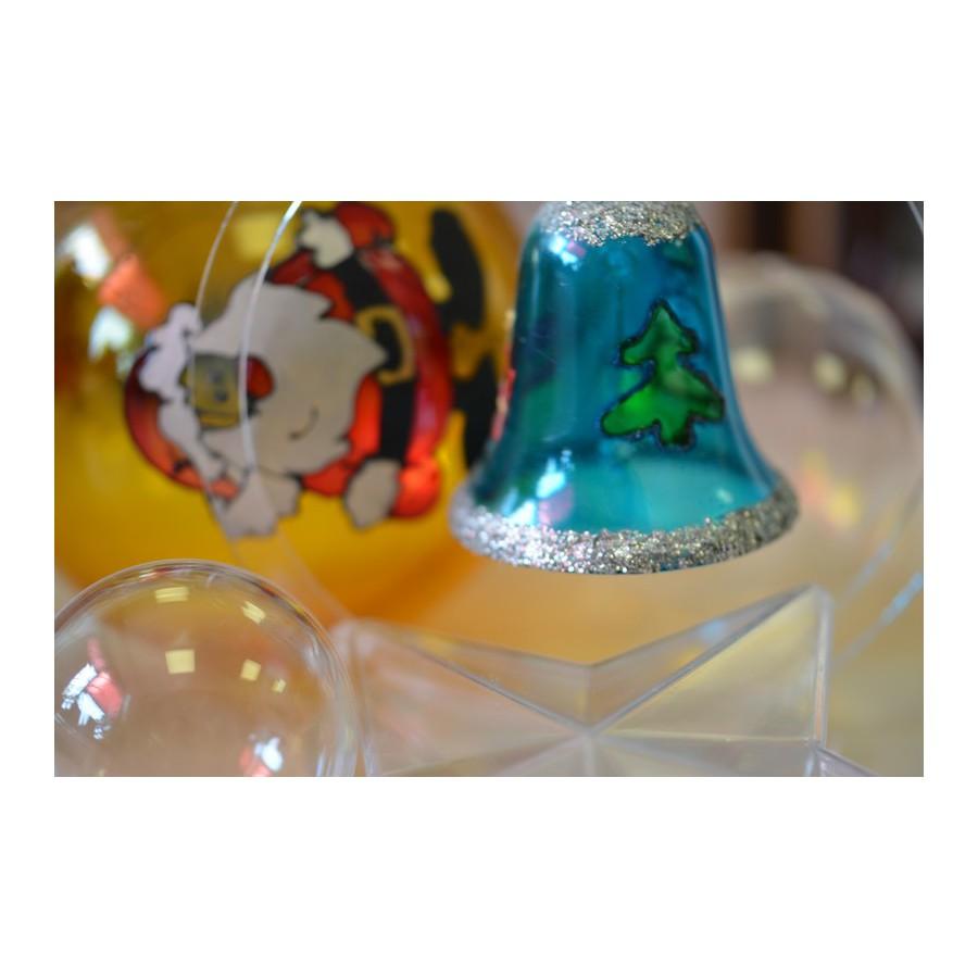 Kule i ozdoby z transparentnego tworzywa